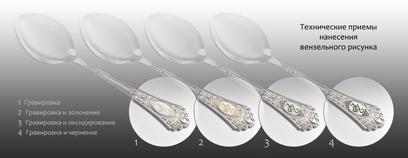 9974b28229ad Вы можете приобрести как отдельную единицу, так и роскошный набор столовых  приборов из серебра.
