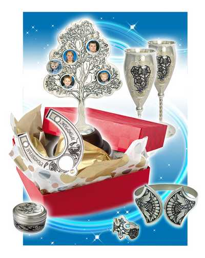 Оригинальные недорогие подарки на серебряную свадьбу 26